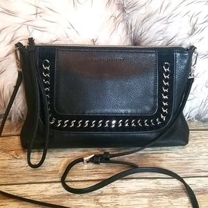 Aimee Kestenberg Black Leather Bag